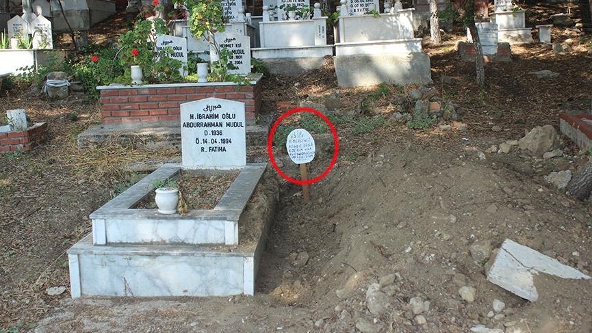 Antalya'daki mezar taşı olayı aydınlığa kavuştu