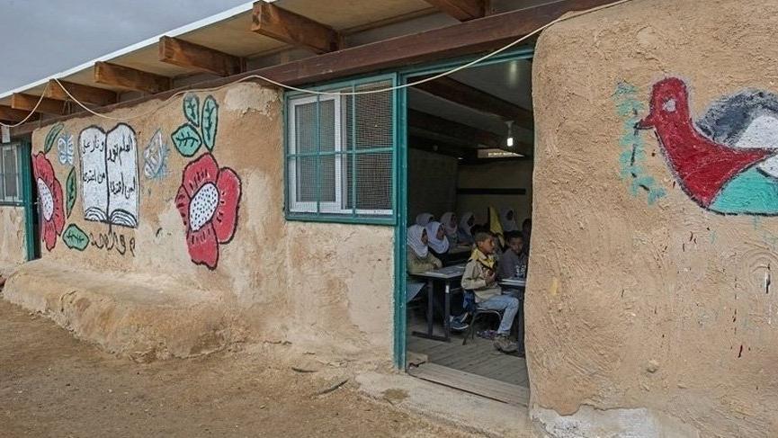 İsrail'in yıkmak istediği okul için kampanya başlatıldı