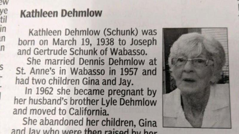 Ölen anneleri için öyle bir ilan verdiler ki… Okuyanlar inanamadı!