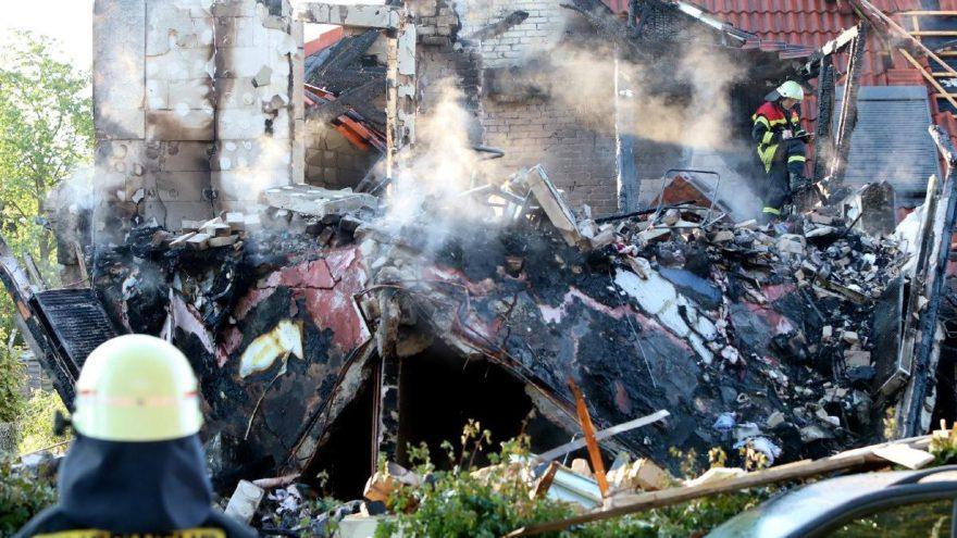 Almanya'da patlama: Çok sayıda ölü var