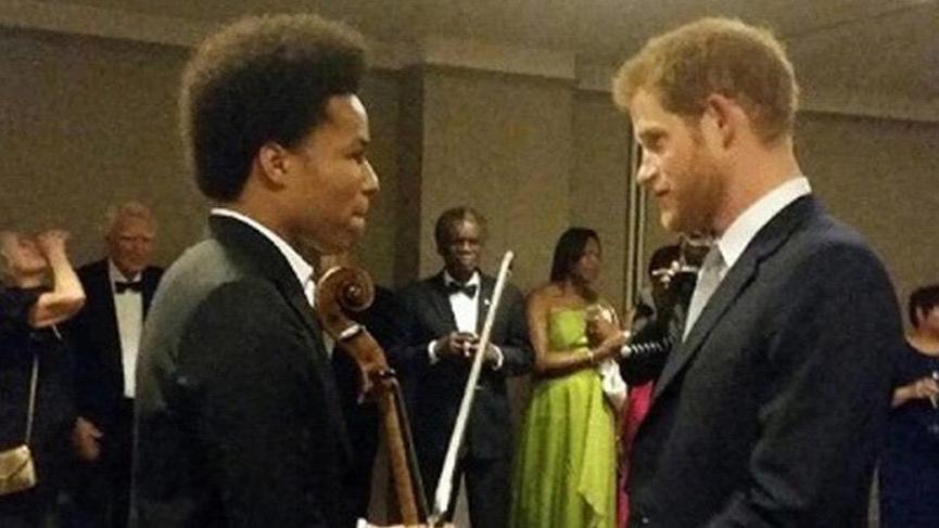 Prens Harry en büyük hayranı; İşte o Çellist