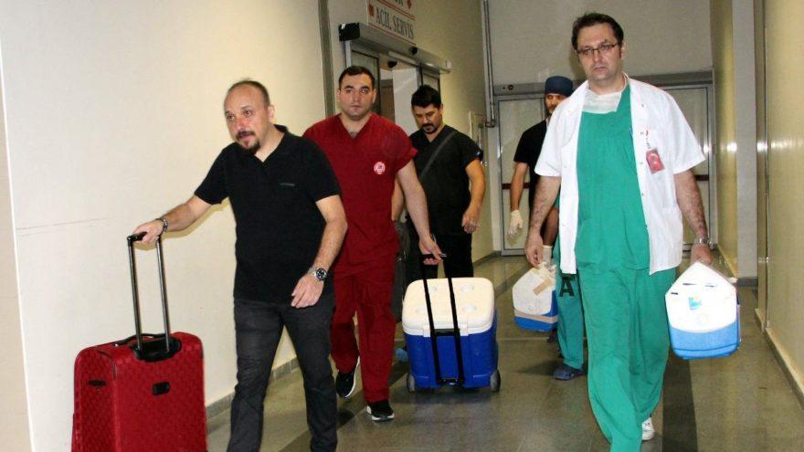 İnşaat işçisinin organları 3 kişiye umut oldu