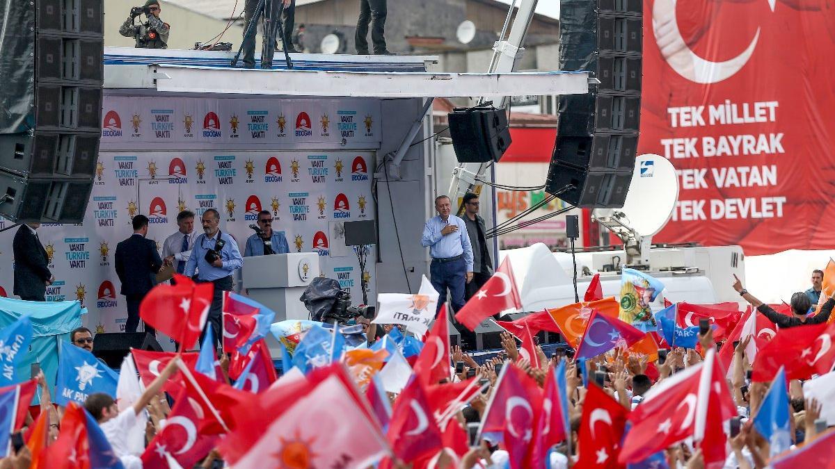 Erdoğan: Türkiye ekonomisi tüm başlıklarda çok ileri seviyede