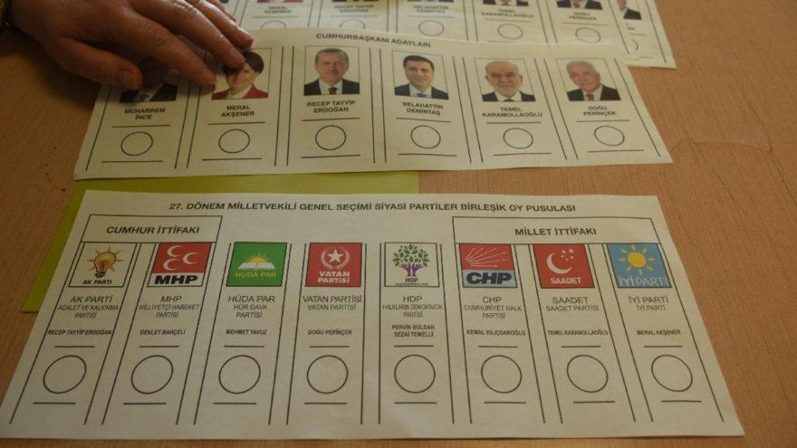 Liderlerin oy kullanacakları sandıklar belli oldu
