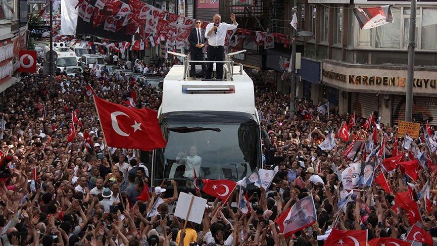 Son Dakika... Muharrem İnce: Erdoğan üniversiteyi tek kişilik sınıfta okumuş