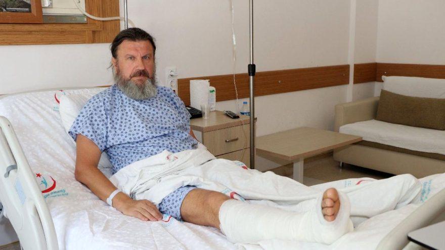 Hastanın dövdüğü doktor: Devletimin adaletini bekliyorum