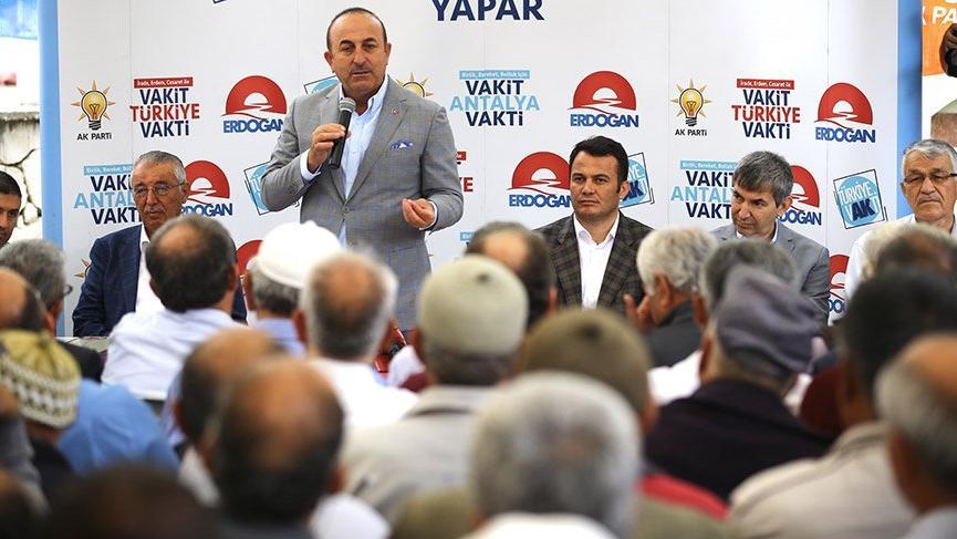 Dışişleri Bakanı Mevlüt Çavuşoğlu: Kandili dümdüz edeceğiz