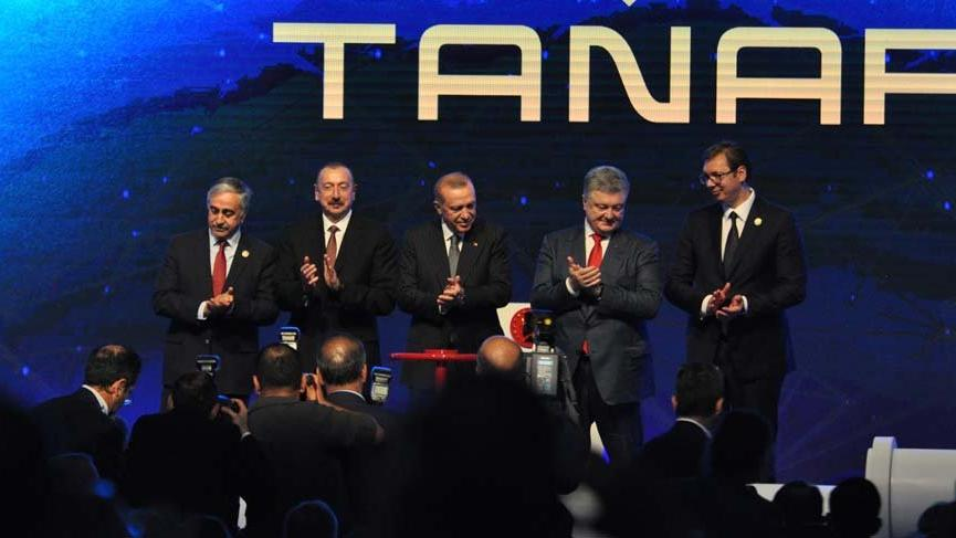 Trans Anadolu Doğalgaz Boru Hattı'nın açılışı yapıldı