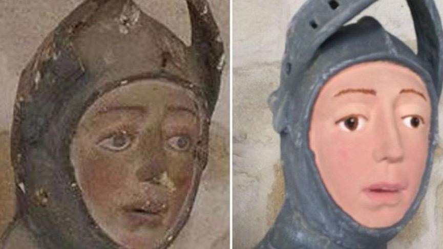 İspanya'da 'korkunç' heykel restorasyonu!