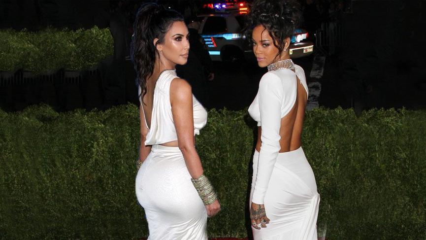 """""""Kim Kardashian, Rihanna'yı 4 yıl geriden takip ediyor"""""""