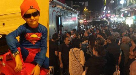 Lösemi hastası Emir için 700 kişi toplandı