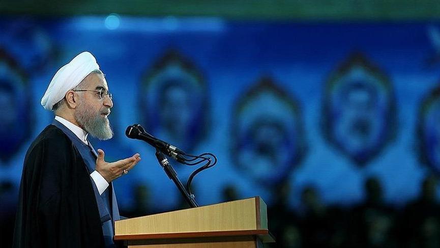 Ruhani'den ABD'ye 'ekonomik savaş' tepkisi