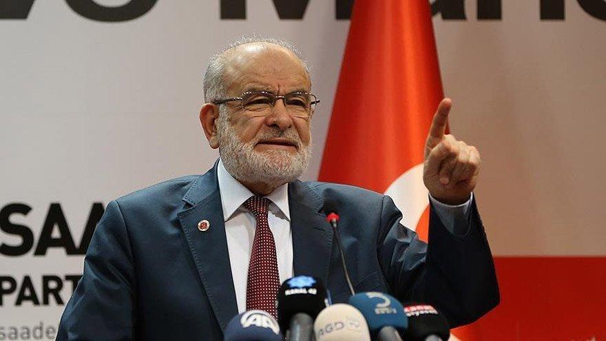 Saadet Partisi'nden Erdoğan'a 'İstişare Toplantısı' çağrısı