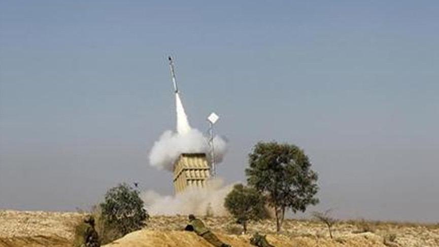 Flaş! İsrail'den İran uçağına füzeli saldırı