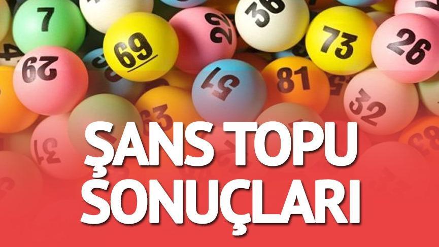 6 Hziran Şans Topu sonuçları: MPİ Şans Topu çekiliş sonucu kimleri zengin etti?
