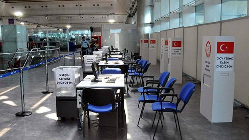 Atatürk Havalimanı seçime hazır!