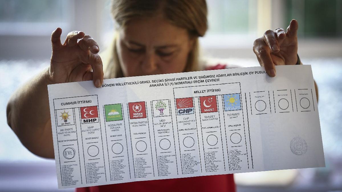 Seçim sonuçları canlı yayın