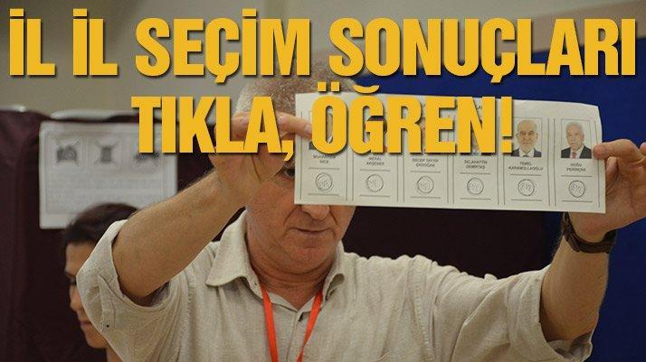 24 Haziran seçiminde kim ne kadar oy aldı? İşte il il seçim sonuçları