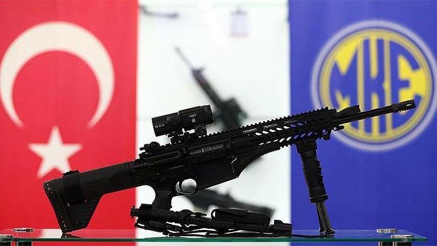 MKE'den Afrin'deki Mehmetçiğe 4 bin adet tüfek