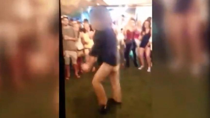 Kazanın böylesi! FBI ajanı dans ederken silahı ateş aldı