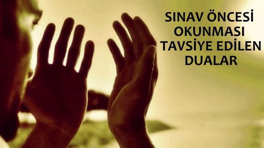 Sınava girerken okunacak dualar hangileri? İşte LGS öncesi okunacak dualar… (Sınav duası)