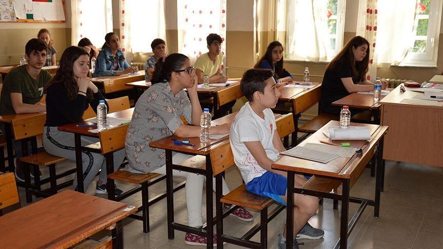 Liselere girişte uygulanan merkezi sınav sona erdi
