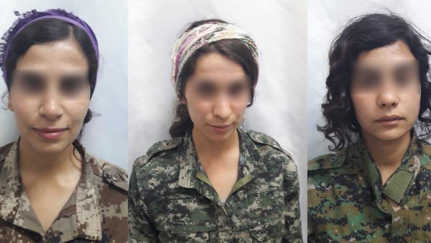 Çocukken terör örgütü tarafından kaçıralan 3 kadın teslim oldu