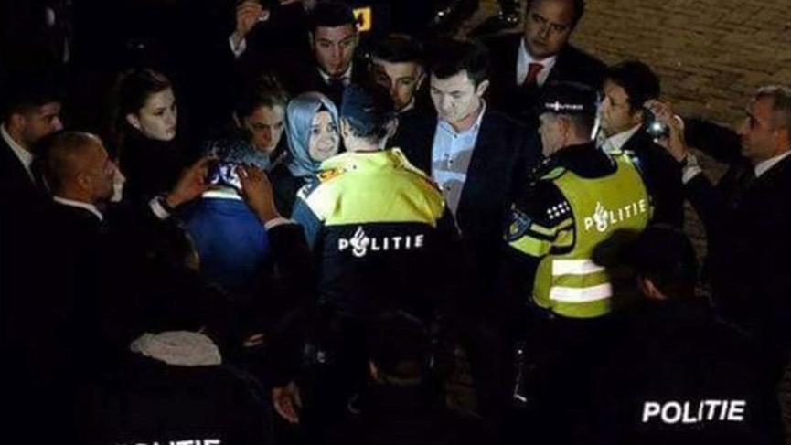 Hollanda'da Bakan Kaya'ya yapılanları protesto edenlere hapis cezası