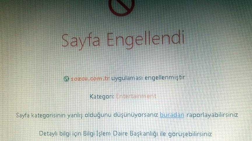 SÖZCÜ'ye yasak iddiası!