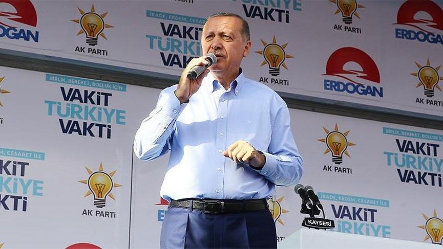 Erdoğan: Yeşile yeniden geri dönüyoruz