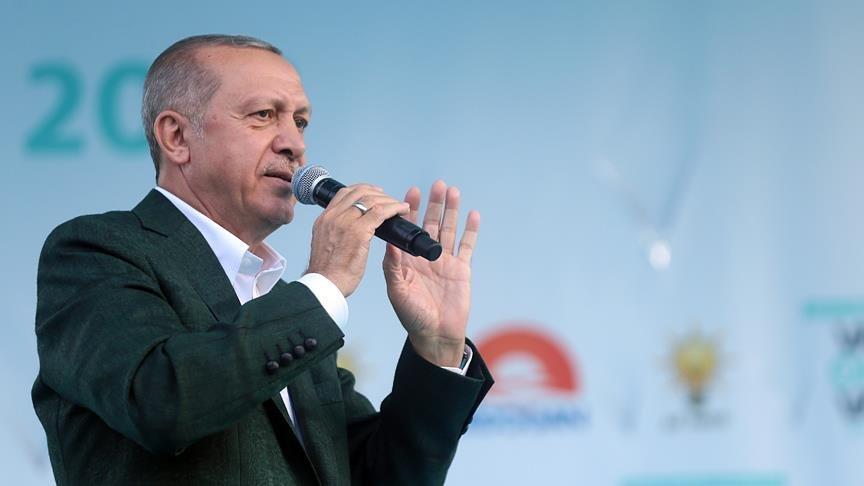 Erdoğan Van'da konuştu