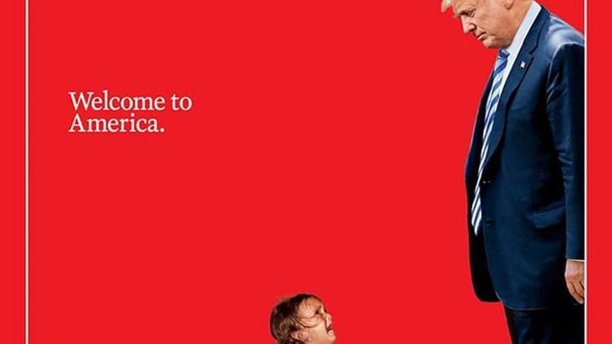 Trump'a kapaklı mesaj: ABD'ye hoş geldin
