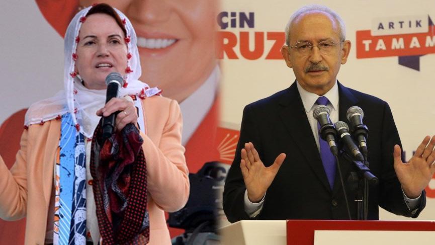 Kılıçdaroğlu, Akşener ile pazartesi günü görüşecek