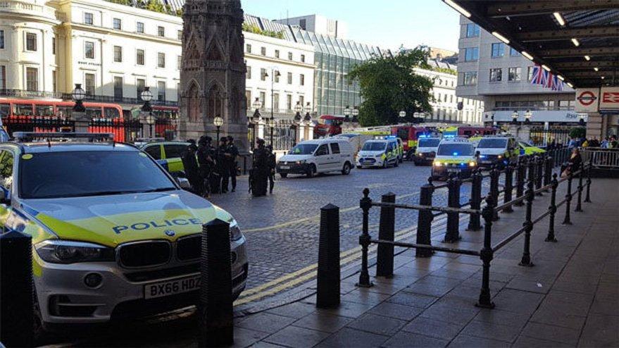 Londra bomba paniği… İstasyon boşaltıldı