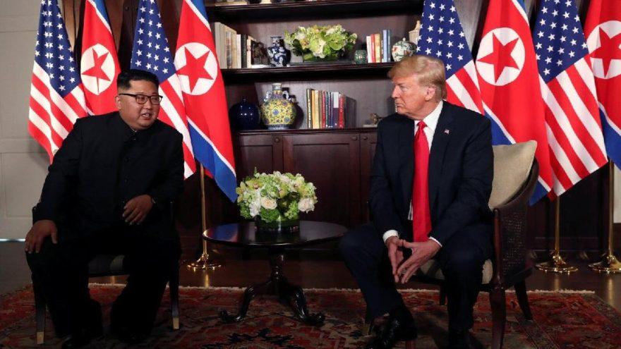 Vücut dili uzmanı: Kim, Trump'a gol attı