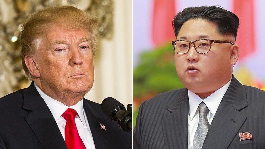 Trump'tan flaş 'Kim' açıklaması
