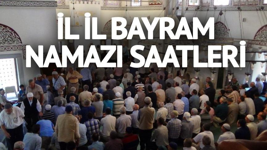 Tunceli'de bayram namazı saat kaçta? Diyanet açıkladı: İşte 2018 il il bayram namazı saatleri