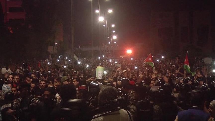 Ürdün'de protestolar durmuyor