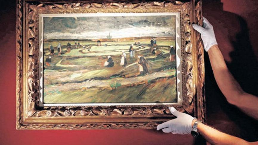 Van Gogh tablosu 7 milyon euroya satıldı