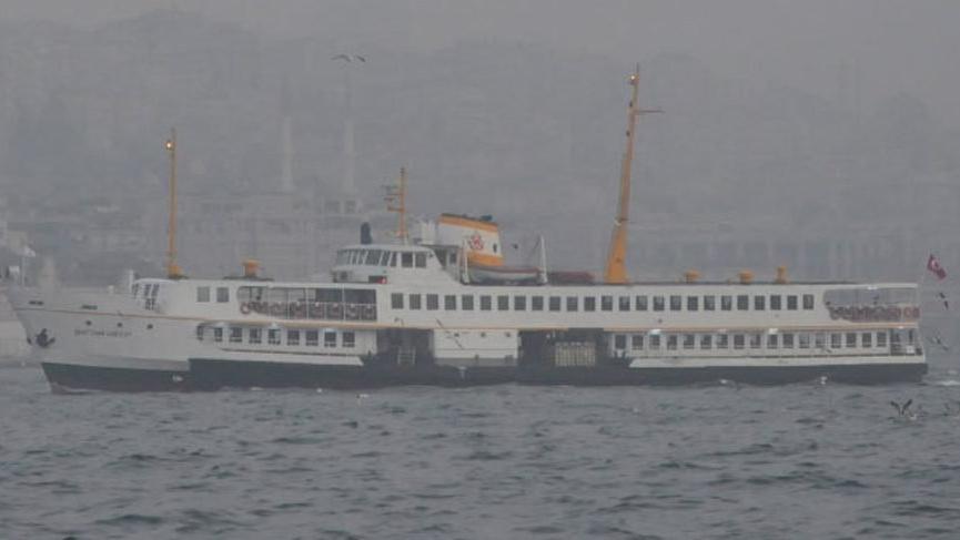 Vapur seferleri iptal! İstanbul'da bazı vapur seferleri iptal edildi! İşte o seferler…