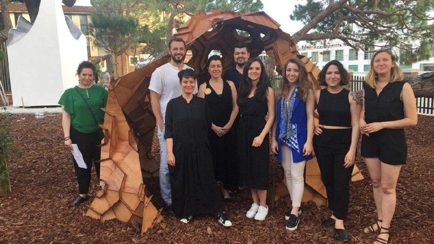 Bilgi Üniversitesi öğrencilerinin eseri Venedik Mimarlık Bianeli'nde