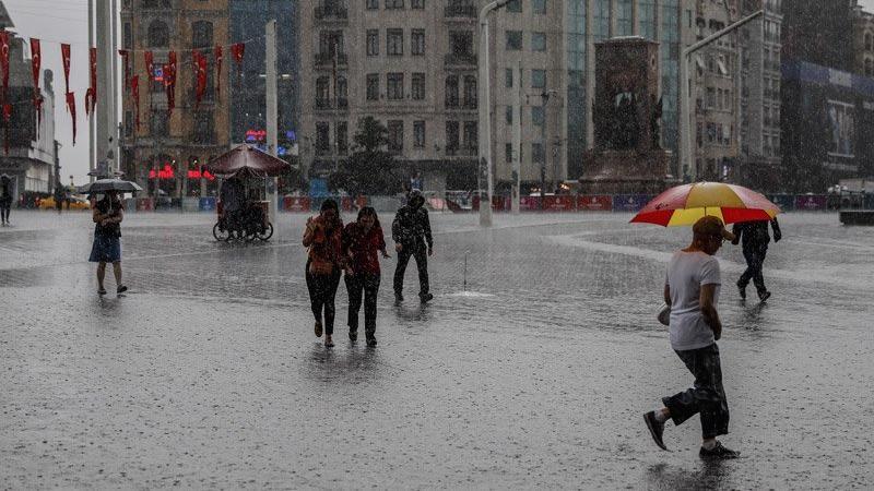 İstanbul dikkat! Meteoroloji'den metrekareye 30 kilo yağacak uyarısı…
