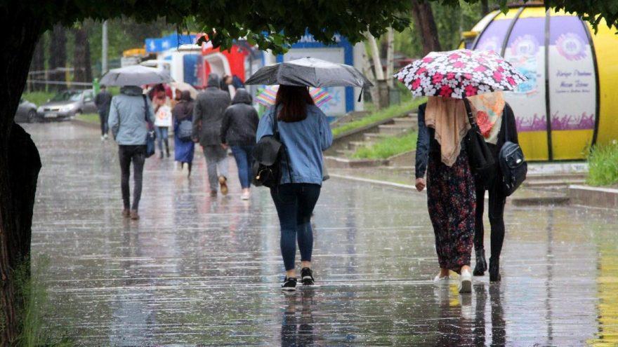 Meteoroloji'den Ankara'ya kuvvetli sağanak yağış uyarısı!