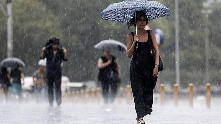 Son Dakika… Meteorolojiden 5 il için sağanak yağış uyarısı