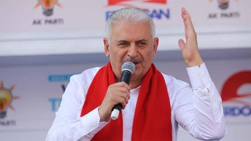Yıldırım: FETÖ'sü, Kandil'i içerideki sponsorları 'Tayyip Erdoğan gitsin' diyor