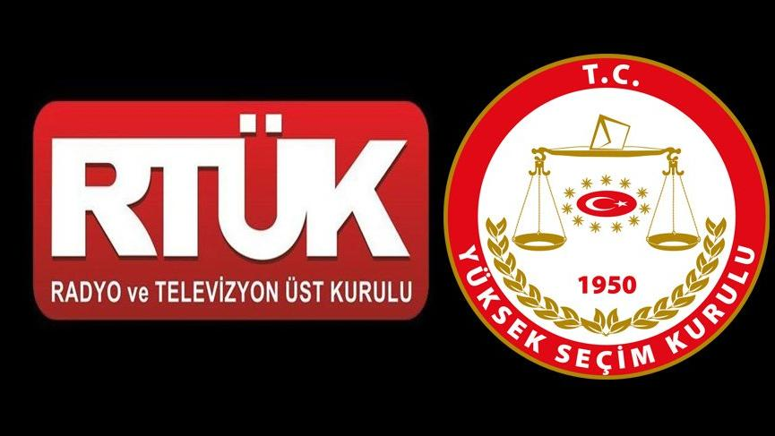 YSK'ya tepki: RTÜK'ün TV'leri denetlemesi engellendi