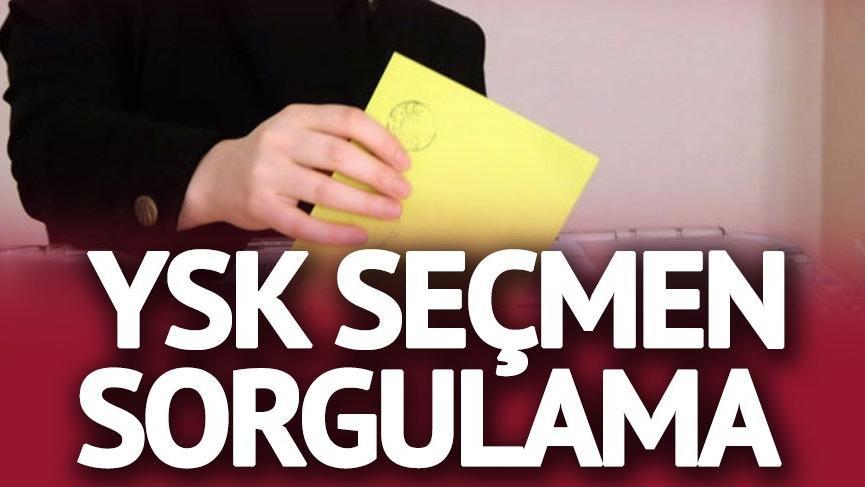 YSK seçmen sorgulama: Nerede oy kullanacağım? Oy kullanılacak okul ve sandık öğrenme…