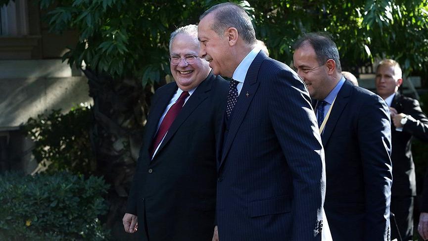 Yunanistan Dışişleri Bakanın'dan Erdoğan'a ilginç destek