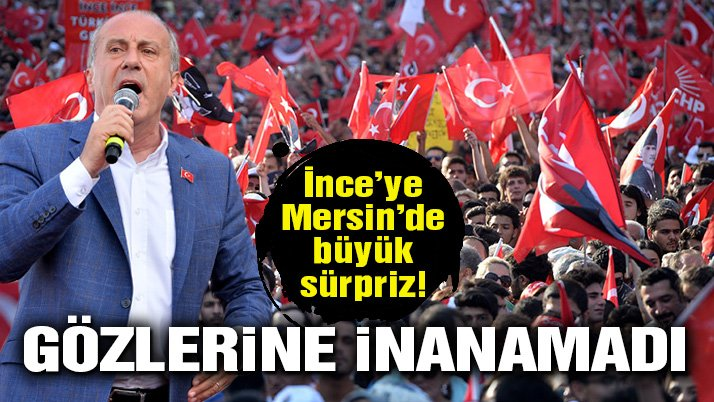 Muharrem İnce'ye Mersin'de büyük ilgi!