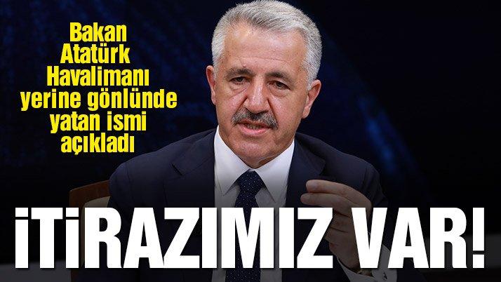 Ulaştırma Bakanı: 3. havalimanının ismi neden Recep Tayyip Erdoğan olmasın